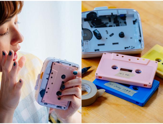 NIMM Lab It's OK: Chiếc máy đọc băng cassette bỏ túi độc đáo với Bluetooth 5.0