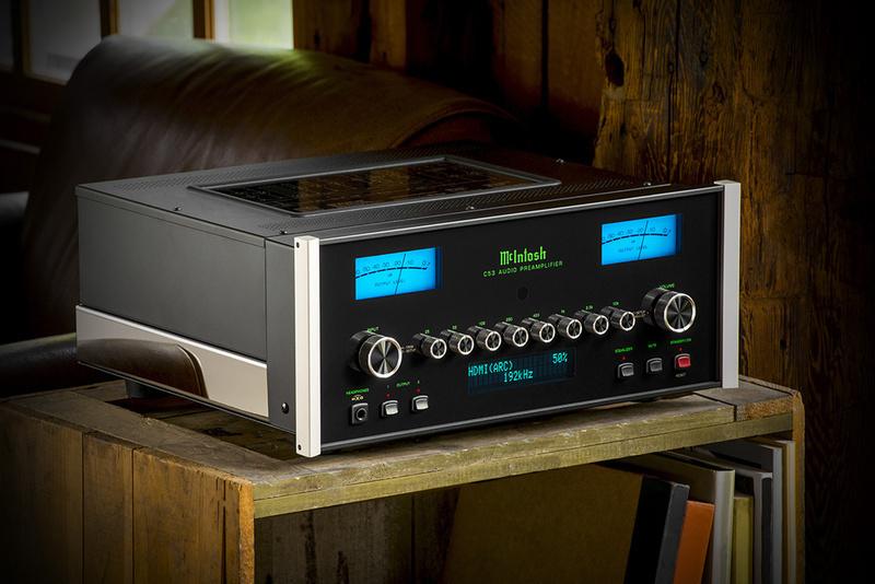 McIntosh trình làng ampli tiền khuếch đại C53: Sản phẩm đầu tiên tích hợp DA2 Digital Audio Module
