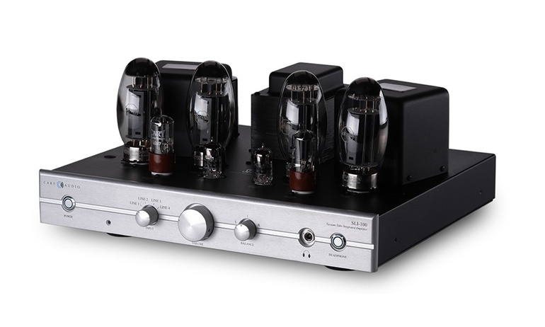Ampli tích hợp Cary Audio SLI-100: Bộ khuếch đại đẳng cấp cho những người si mê chất âm đèn