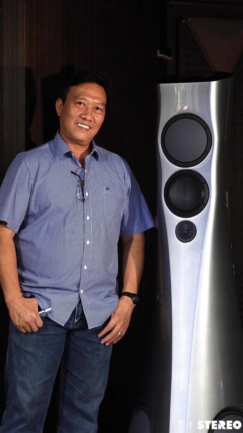 Chiêm ngưỡng vẻ đẹp của cặp loa hi-end Estelon Forza đầu tiên ở Việt Nam