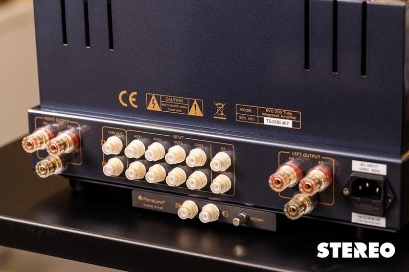 Thưởng thức âm nhạc trọn vẹn hơn với ampli đèn tích hợp PrimaLuna Evo 200