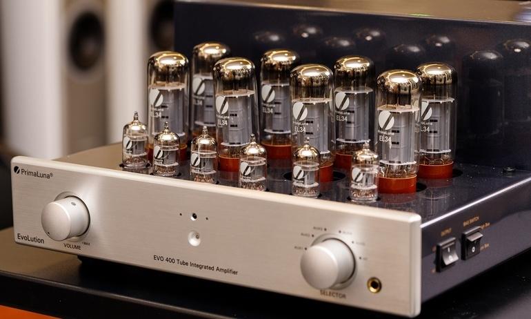 PrimaLuna Evo 400: Chiếc ampli đèn tích hợp cao cấp nhất của dòng EvoLution Series