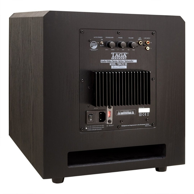 TAGA Harmony giới thiệu loa siêu trầm TSW-212 SE