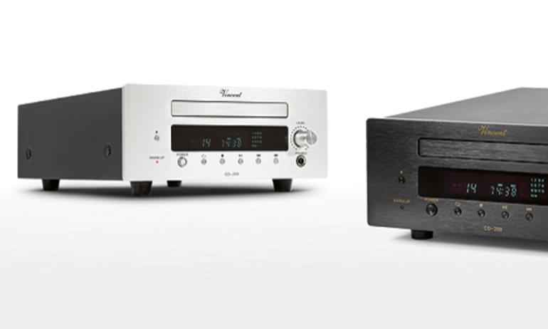 Vicent Audio ra mắt đầu CD đèn CD-200 cho TubeLine Series