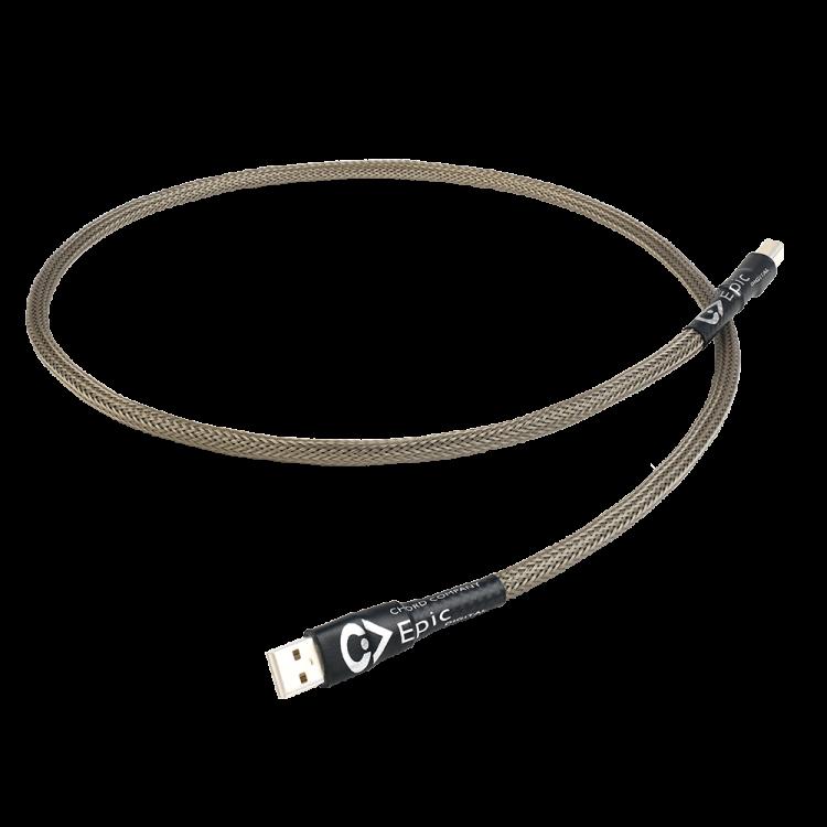 Chord Company giới thiệu dây USB Epic: Món phụ kiện mới dành cho các nguồn phát nhạc số