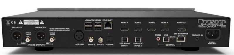 Bryston giới thiệu đầu streamer kiêm DAC giải mã BDA-3.14