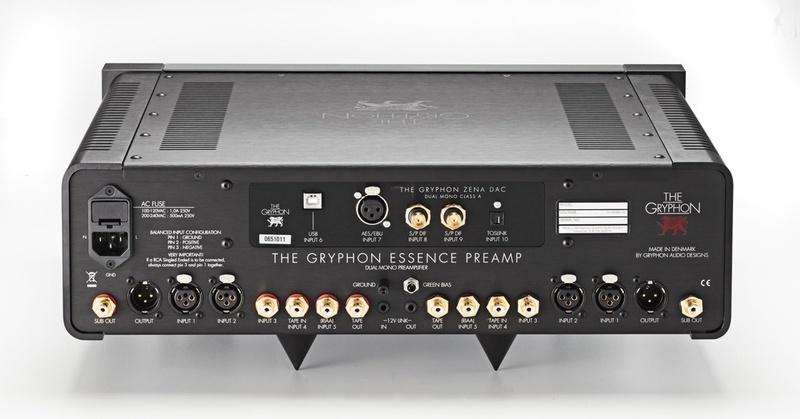 Gryphon trình làng hệ thống ampli pre-pow mang tên Essence