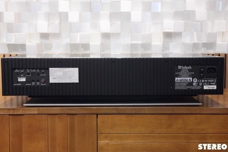 McIntosh RS200: Giải pháp thưởng thức nhạc không dây chất lượng cao dành cho audiophile