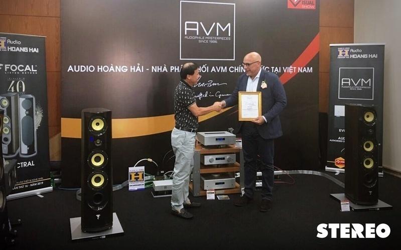 Audio Hoàng Hải chính thức phân phối sản phẩm  AVM tại Việt Nam