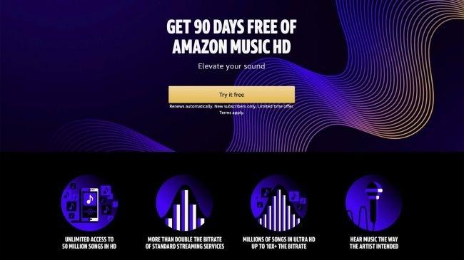 Dịch vụ nhạc số chất lượng cao Amazon Music HD chính thức đi vào hoạt động