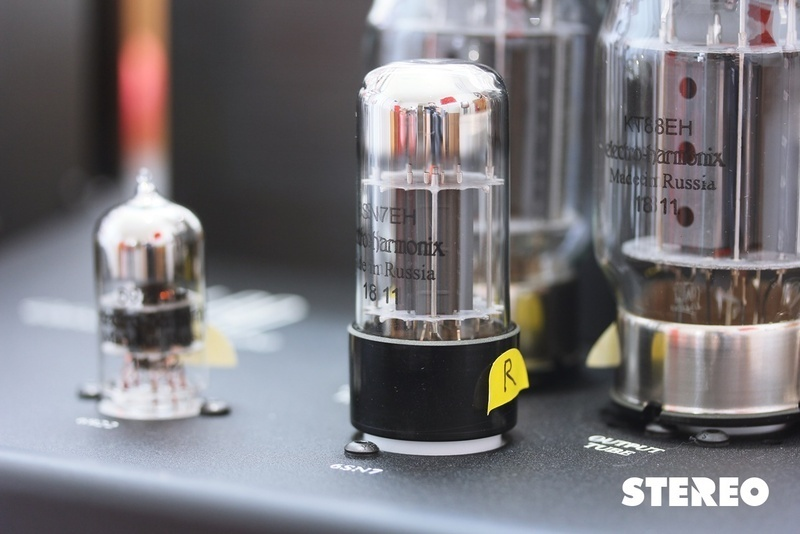 Khui thùng ampli đèn Cary Audio SLI-80 Heritage Series