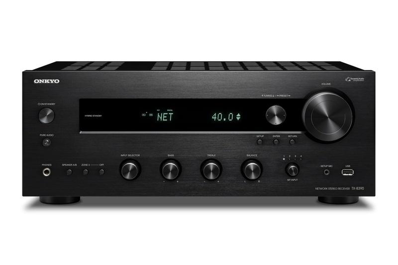 Onkyo tung ra stereo receiver TX-8390, chuyên dụng cho nghe nhạc