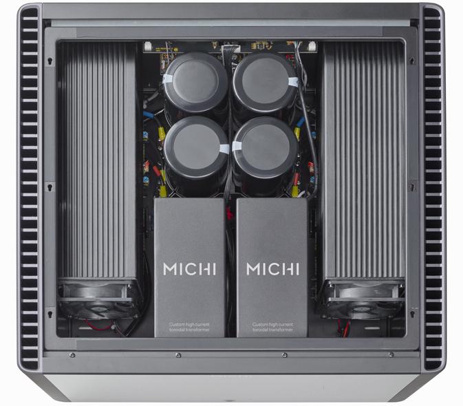 Tìm hiểu về Michi: Dòng sản phẩm tham chiếu cao cấp nhất của Rotel