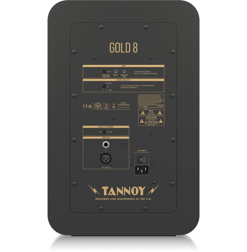 Tannoy công bố bộ đôi loa tích hợp cao cấp Gold 7 và Gold 8