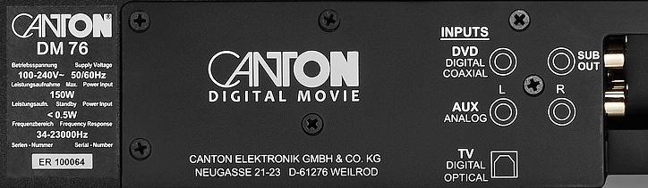 Canton hé lộ thông tin về bộ đôi soundbase DM76 và DM101
