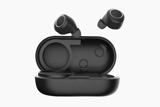 Tai nghe true wireless The Music Pill: Tích hợp cả loa Bluetooth trên hộp sạc dự phòng