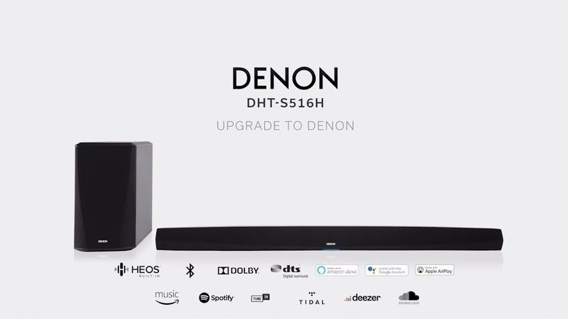 Loa soundbar Denon DHT-S516H: Lựa chọn mới đáng chú ý trên thị trường soundbar trong năm 2019