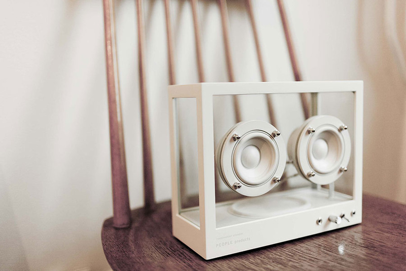 Transparent Sound ra mắt Small Transparent Speaker: Chiếc loa không dây với thiết kế trong suốt độc đáo