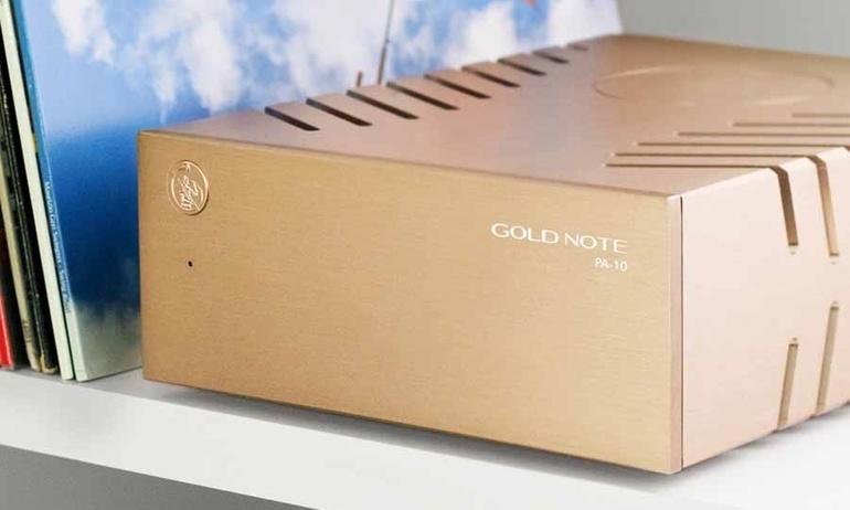 Gold Note trình làng ampli công suất PA-10: Nhỏ gọn & cực kỳ mạnh mẽ