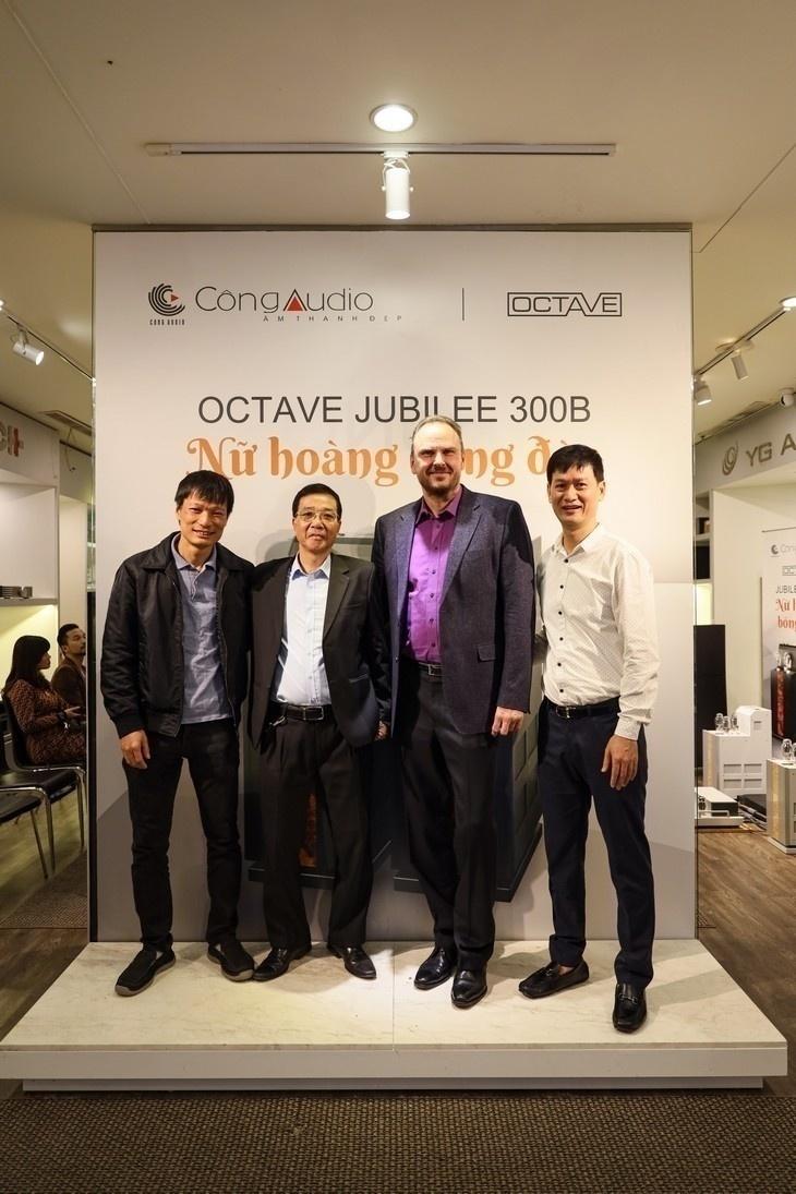 Công Audio: Gặp gỡ và chia sẻ cùng chuyên gia từ Octave Audio về ampli đèn công suất đầu bảng Jubilee 300 B