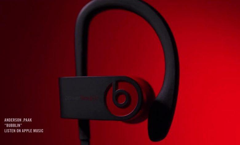 Apple hé lộ việc ra mắt tai nghe true-wireless Beats Powerbeats 4