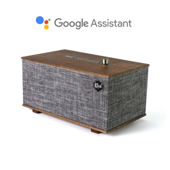 Loa Klipsch The Three Google Assistant: Thưởng thức âm nhạc dễ dàng hơn với trợ lý ảo từ Google