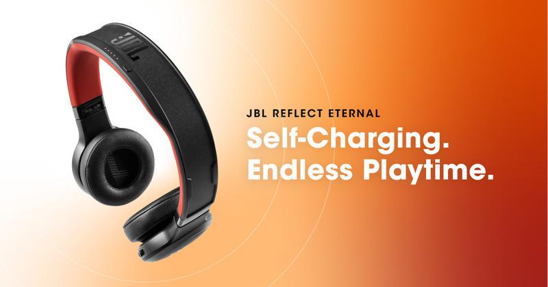 JBL ra mắt Reflect Eternal: Tai nghe không dây với khả năng sạc pin bằng năng lượng ánh sáng