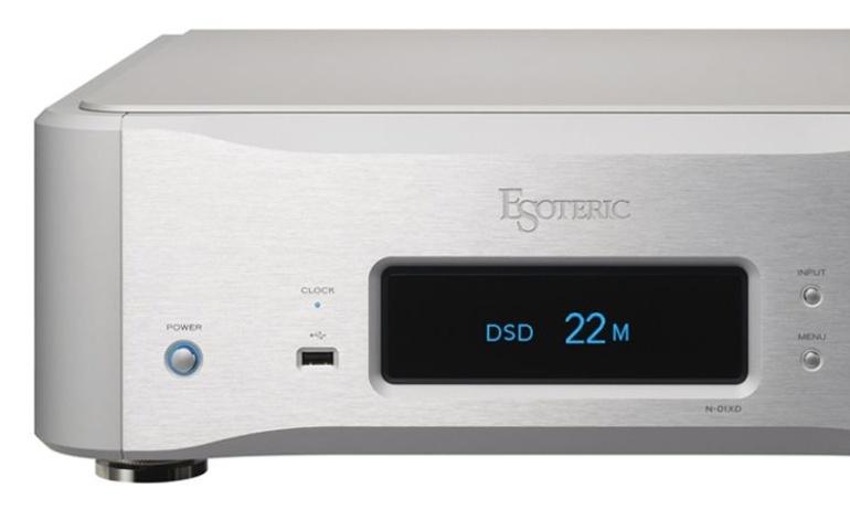 Esoteric giới thiệu đầu network DAC N-01XD, hỗ trợ DSD và MQA