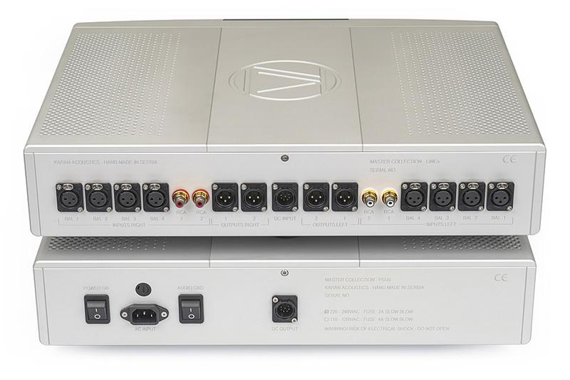Karan Acoustics kỷ niệm 30 năm bằng bộ pre-amp ultra hi-end Master Collection LINEa