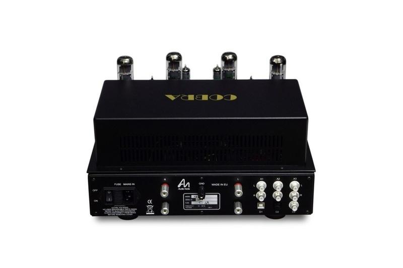 Audio Note (UK) trình làng ampli đèn tích hợp Cobra, với trang bị hấp dẫn cùng mức giá dễ chịu