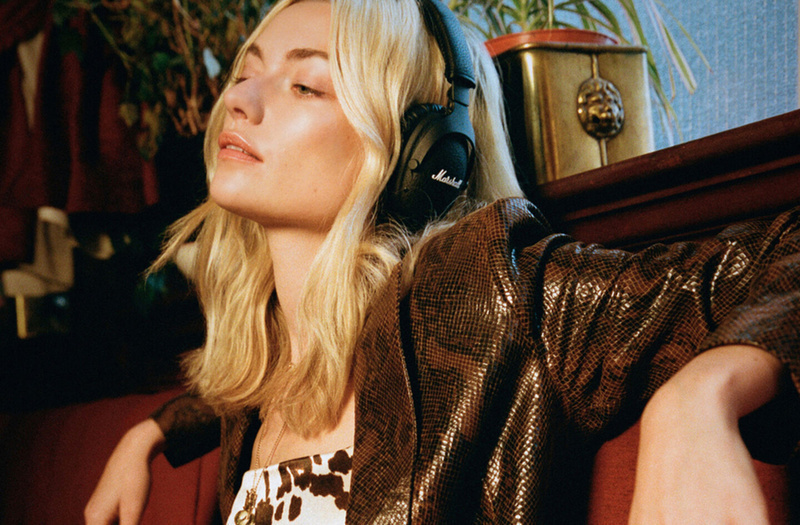 Marshall trình làng tai nghe Monitor II A.N.C, chống ồn chủ động, pin 30 giờ