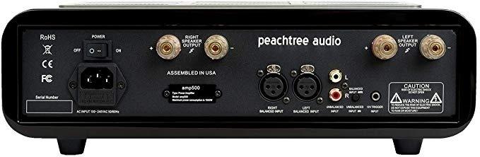 Peachtree Audio công bố ampli công suất amp500, gọn nhẹ & mạnh mẽ