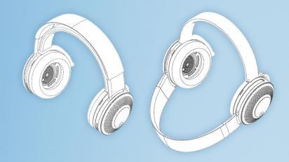 Dyson hé lộ các bằng sáng chế dành cho chiếc tai nghe có khả năng lọc không khí