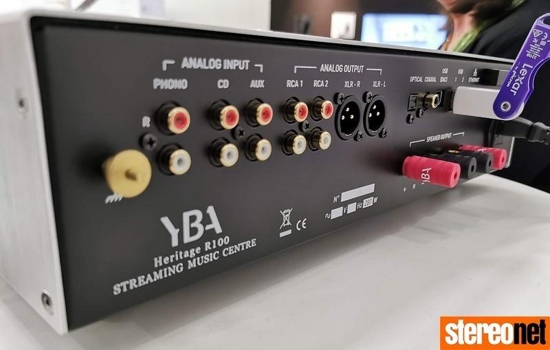 YBA chính thức mở bán dòng ampli tích hợp Heritage R100 Music Center