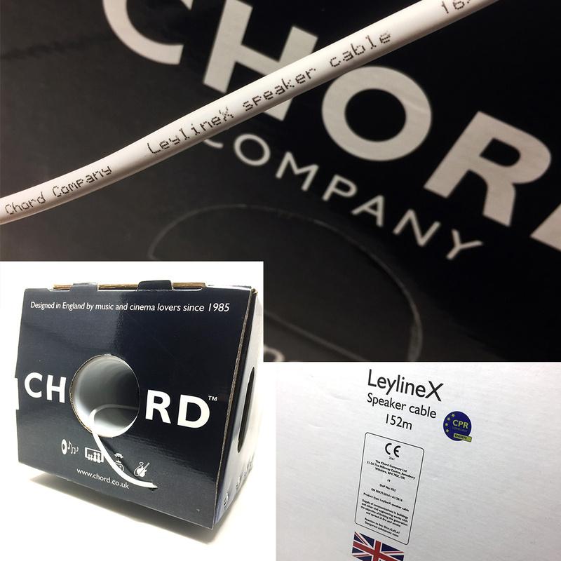Chord Company tung ra dây loa giá rẻ LeylineX dành cho các hệ thống xem phim, nghe nhạc