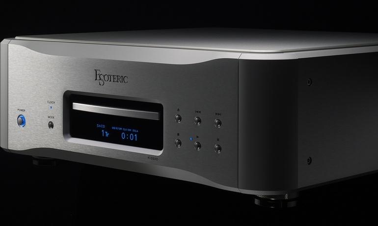 Esoteric ra mắt đầu CD/SACD K-03XD, có cả tính năng DAC rời