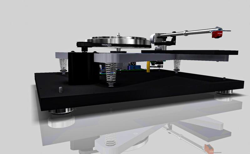 Thorens mở bán dòng sản phẩm 1600 Series với mâm đĩa than và đầu băng cối mới