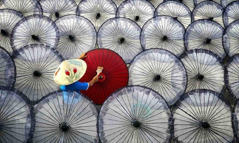 Bức ảnh chụp tại Việt Nam đạt  vị trí cao tại giải thưởng #Work2020 của ứng dụng Agora