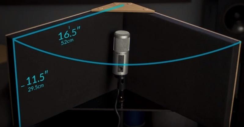 GIK Acoustics VISO Booth (Portable Vocal ISOlation Booth): Tấm âm học chuyên dụng cho thu âm
