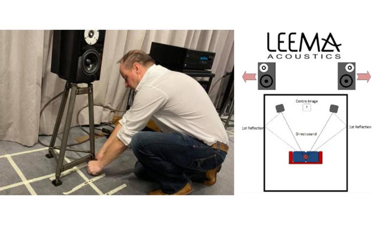 Bố trí loa chuẩn hơn trong phòng nghe với hướng dẫn từ Leema Acoustic