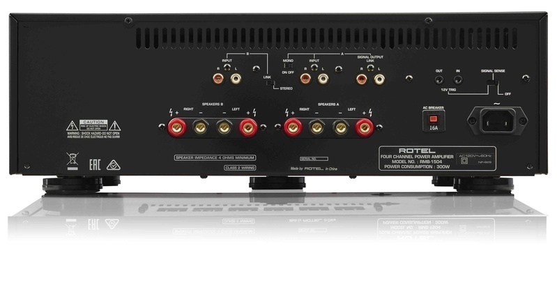 Bộ khuếch đại phân phối Rotel RMB-1504: Lựa chọn đẳng cấp dành cho dàn xem phim đa kênh hoặc âm thanh đa phòng