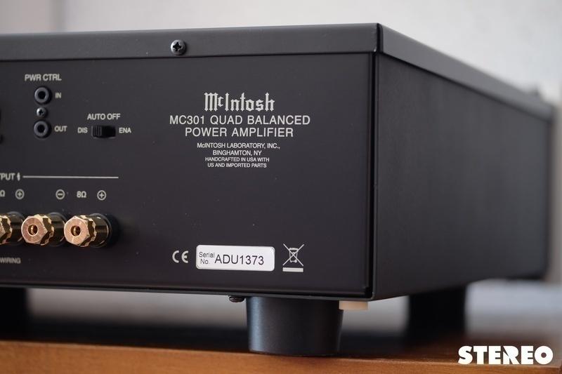 McIntosh MC301 Monoblock Poweramp: Bộ ampli monoblock nhỏ gọn dành cho hệ thống hi-end