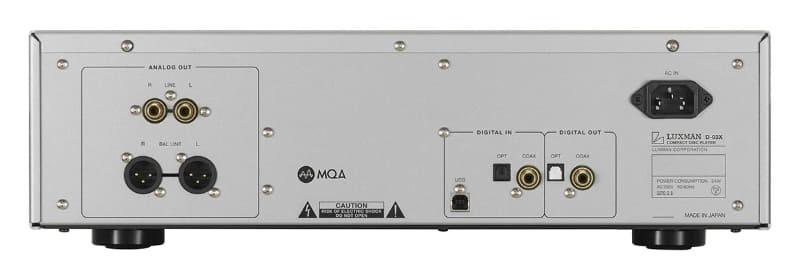 Luxman ra mắt CD player hi-end D-03X, hỗ trợ MQA