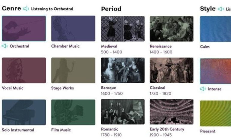 Primephonic ra mắt tính năng radio với các danh sách nhạc lọc sẵn theo gu người dùng