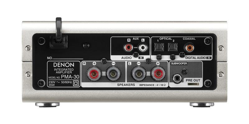 Denon PMA-30: Chiếc ampli tích hợp nhỏ gọn, đa năng và mạnh mẽ dành cho nghe nhạc