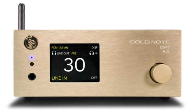 Gold Note ra mắt phiên bản nâng cấp của đầu giải mã hi-end DS-10