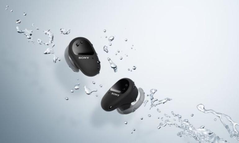 Sony ra mắt tai nghe true-wireless thể thao, tích hợp chống ồn WF-SP800N