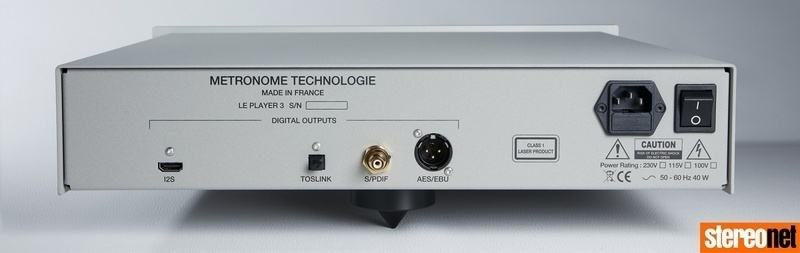 Metronome trình làng đầu CD transport hi-end Le Player 3