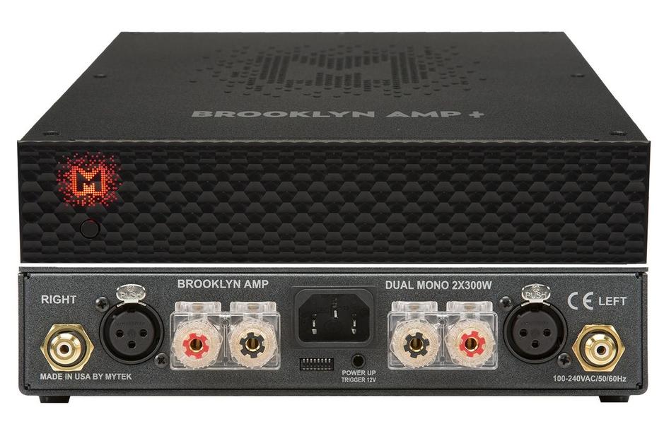 Mytek trình làng ampli công suất Brooklyn AMP+, mạch Class D, công suất cực đại 1.200W/kênh