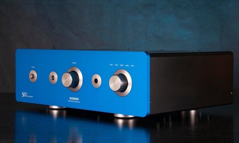 Ampli Sugden Masterclass ANV-50 chơi nhạc test: Bass, Treble, Âm hình